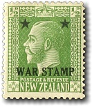 1915 King George V War Stamp