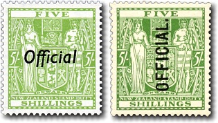 1933 Arms Postal Fiscal Officials