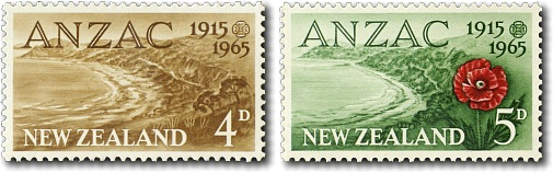 1965 ANZAC - 50th Anniversary of Gallipoli Landing