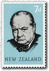 1965 Sir Winston Churchill - Commonwealth Day