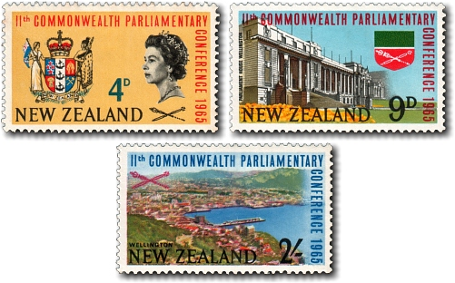1965 11th Commonwealth Parliamentary Conference in Wellington