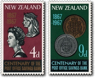 1967 Post Office Savings Bank Centenary
