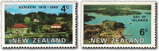 1969 150th Anniversary of First European Settlement - Bay of Islands