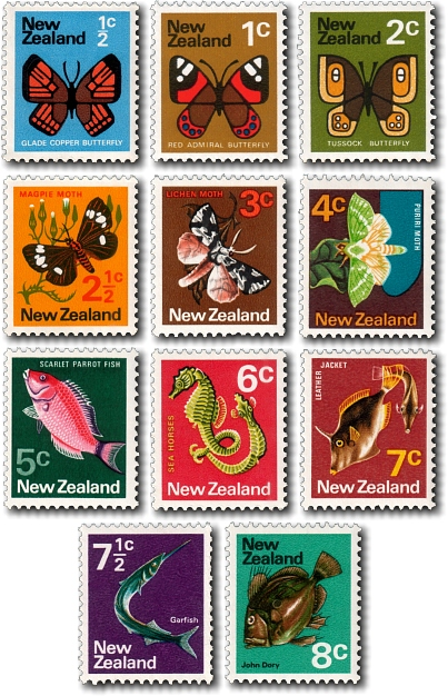 1970 Definitives / Pictorials