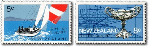 1971 One Ton Cup in New Zealand