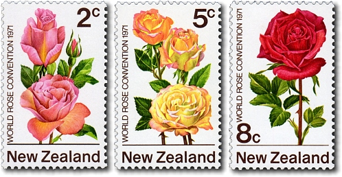 1971 First World Rose Convention in New Zealand