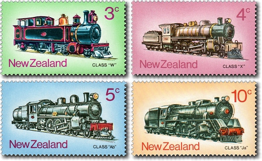 1973 Steam Locomotives