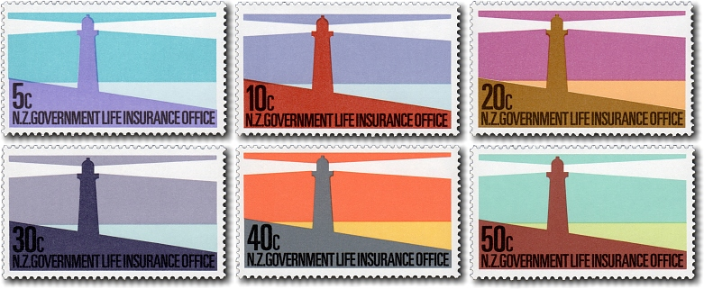 1981 Government Life Insurance Lighthouses