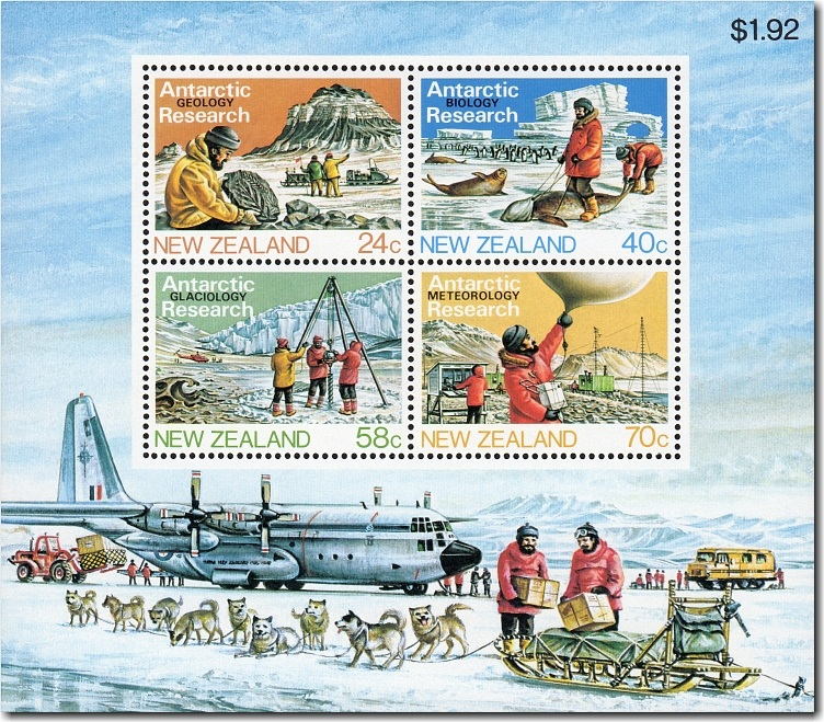 1984 Antarctic Research