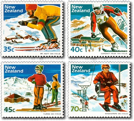 1984 Skiing / Ski Fields