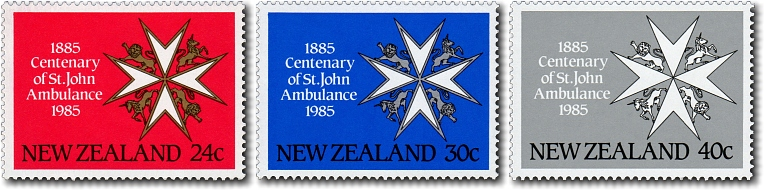 1985 Centenary of St John's Ambulance