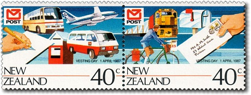 1987 New Zealand Post Vesting Day