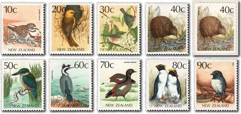 1988 Native Bird Definitives