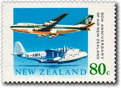 1990 Air New Zealand 50th Anniversary