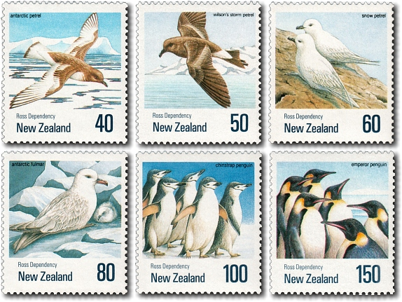 1990 Antarctic Birds