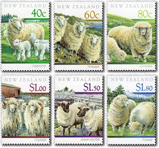 1991 Sheep Breeds of New Zealand