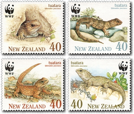 1991 The Tuatara / World Wildlife Fund