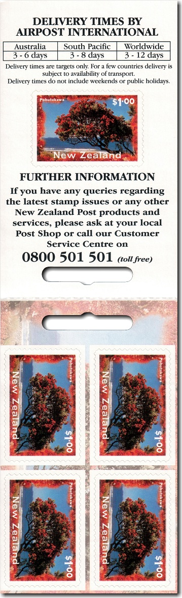 1996 AirPost Booklet