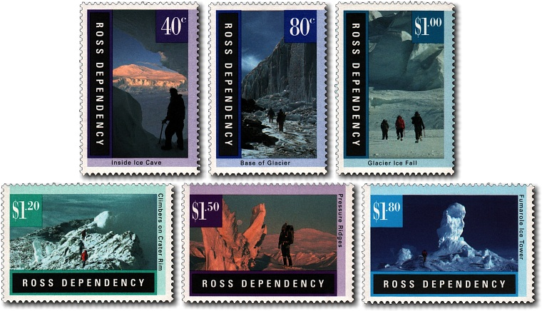 1996 Ross Dependency Antarctic Landscapes