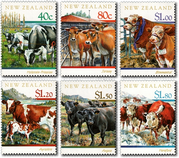 1997 New Zealand Cattle / The Year of the Ox