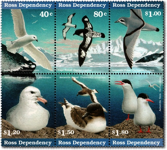 1997 Ross Dependency Antarctic Birds