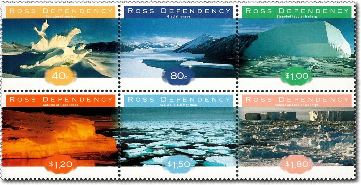 1998 Ross Dependency Ice Formations