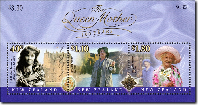 2000 The Queen Mother - 100 Years