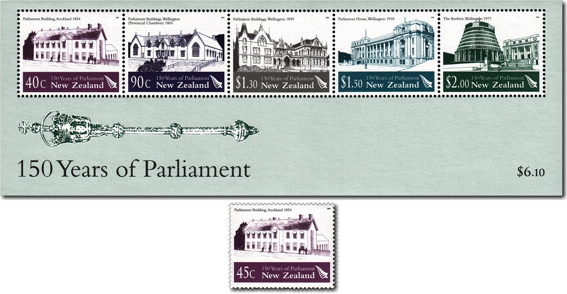 2004 150 Years of Parliament