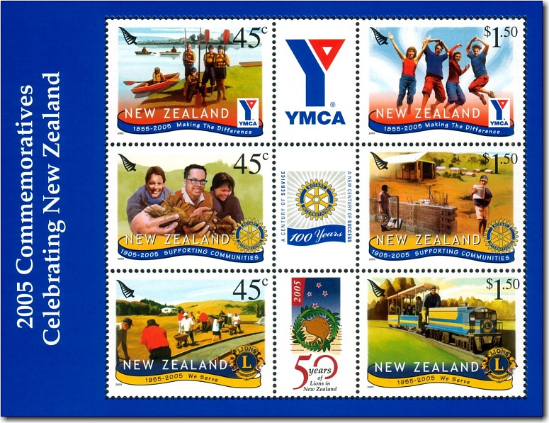 2005 Commemoratives