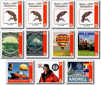 2007 Custom Advertising (CALs) / Personalised Postage Labels