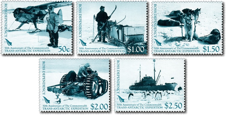 2007 Ross Dependency - 50th Anniversary of the Commonwealth Trans-Antarctic Expedition