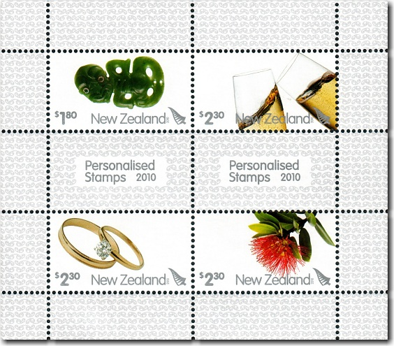 2010 Personalised Stamps
