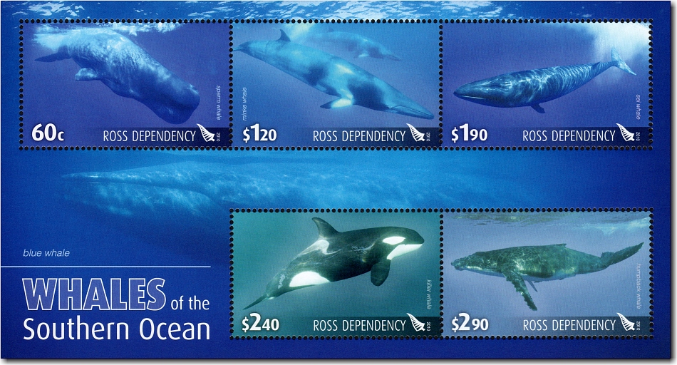 2010 Ross Dependency - Whales of the Southern Ocean