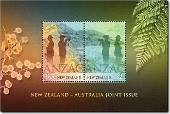 2015 ANZAC Joint Issue