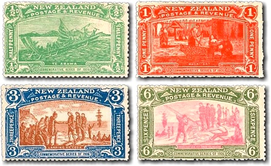 Image result for 1906 Christchurch Exhibition Stamps