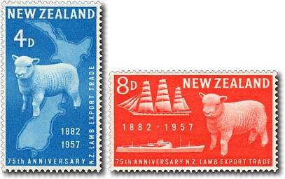 1957 Lamb Export 75th Anniversary