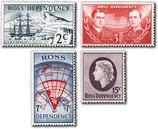 1967 Ross Dependency Decimal Pictorials