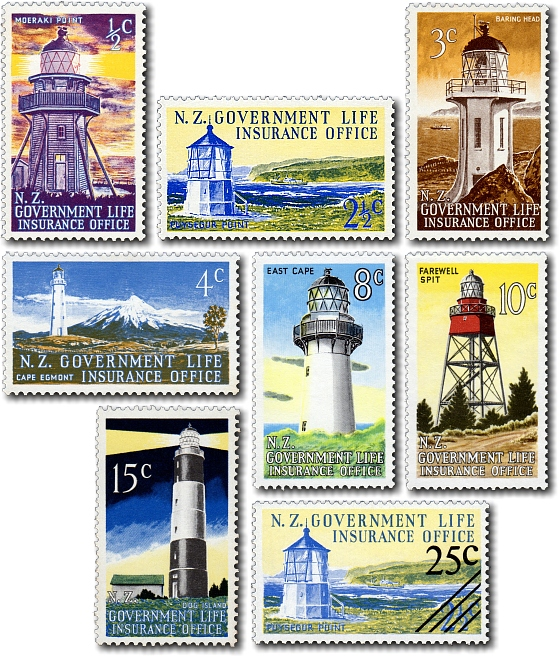 1969 Lighthouses - Centenary of Government Life Insurance