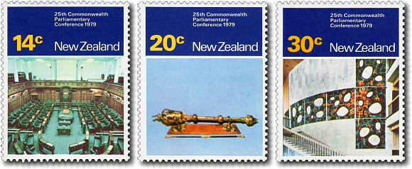 1979 25th Commonwealth Parliamentary Conference in Wellington