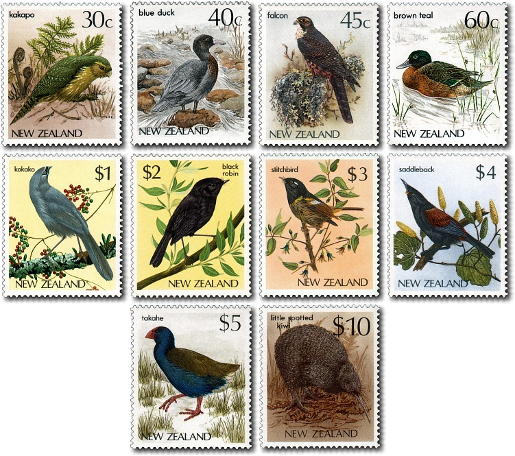 1985 Endangered Native Bird Definitives
