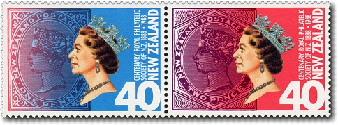 1988 Centenary Philatelic Society of New Zealand
