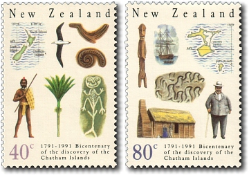 1991 Chatham Islands Bicentenary