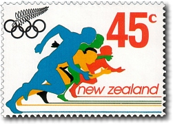 1992 Olympic Design A Stamp Competition Winner