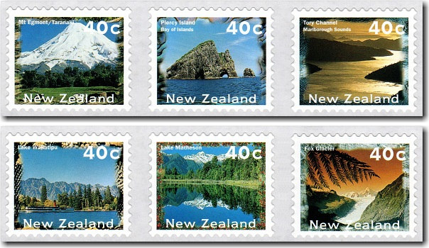 1996 Self Adhesive Scenic Definitives