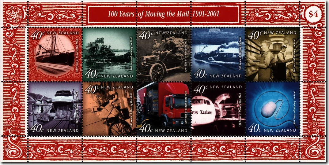 2001 One Hundred Years of Moving the Mail