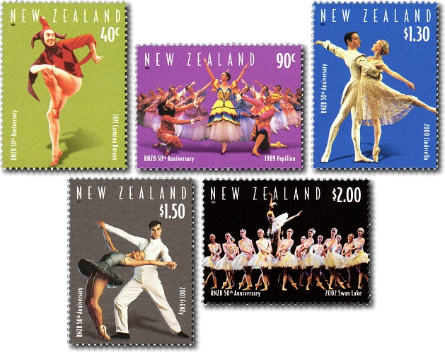 2003 The Royal New Zealand Ballet 50th Anniversary