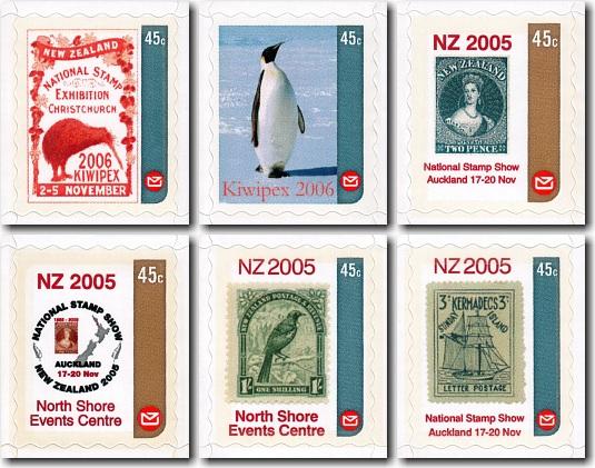 2005 Custom Advertising (CALs) / Personalised Postage Labels