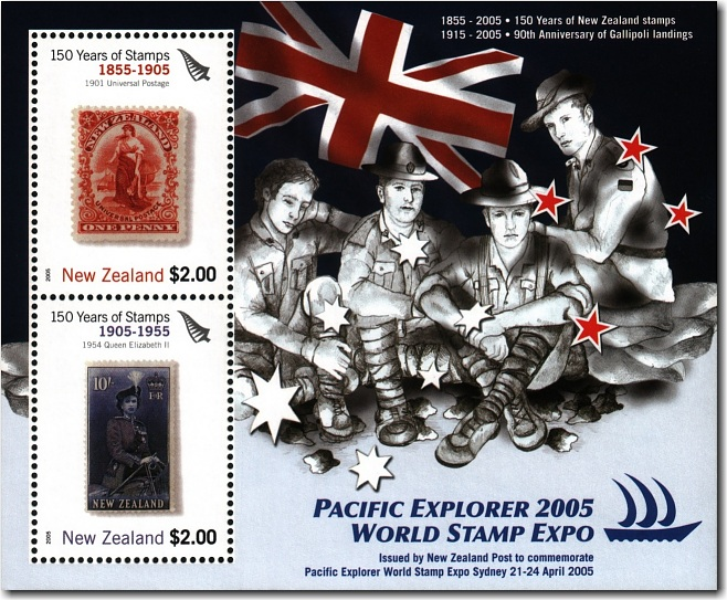 2005 Pacific Explorer World Stamp Expo