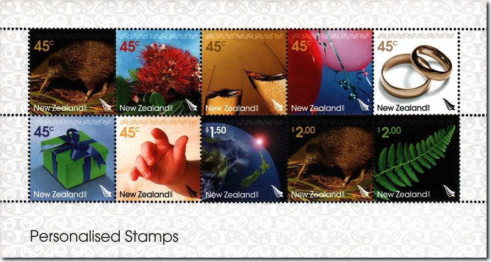 2005 Personalised Stamps
