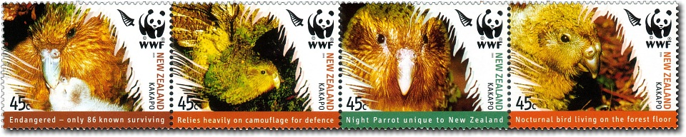 2005 World Wildlife Fund - The Kakapo